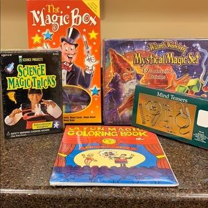 Young Magician's BUNDLE of magic tricks/teasers